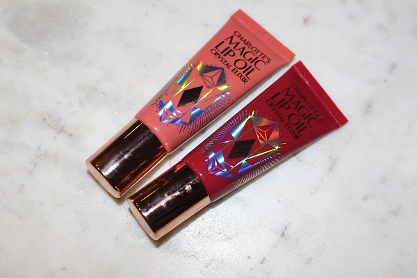 Charlotte Tilbury Tinted Magic Lip Oil in Shades Rose Lust & Berry Bliss