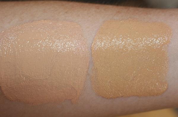 L'Oreal Paris Skin Paradise Tinted Water-Cream Swatches - Fair 03 & Light 01