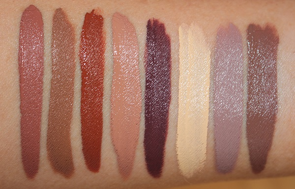 Too Faced Melted Chocolate Eye Shadow Swatches