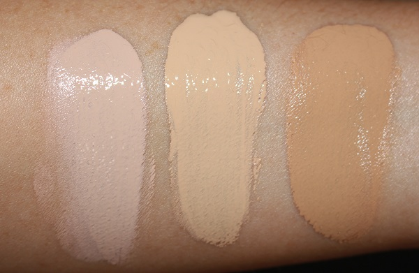 IT Cosmetics Your Skin But Better Foundation + Skincare Swatches - 20, 21 & 23