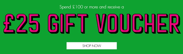 Space NK £25 Gift Voucher Free With £100 Spend