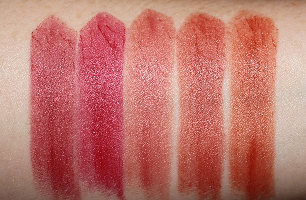 YSL Slim Glow Matte Lipstick - Rouge Pur Couture Swatches