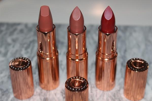 Charlotte Tilbury Holiday Lipsticks - Super You, Super Nude, Super Starlet