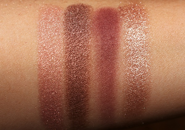 Charlotte Tilbury Fire Rose Eyeshadow Palette Swatches