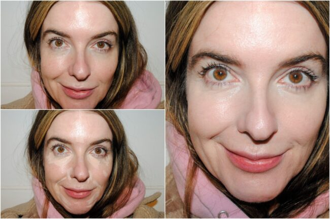 NUDESTIX NudeFix Cream Concealer - Before & After