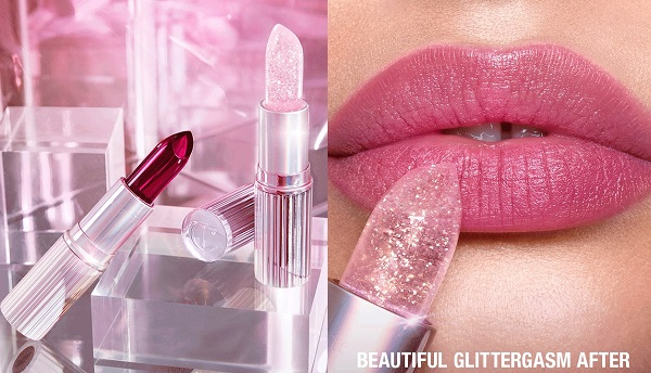 Charlotte Tilbury Glowgasm Lips - Glittergasm & Jewelgasm