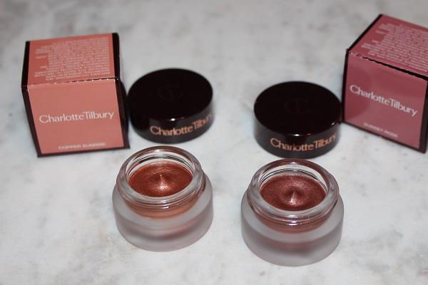 Charlotte Tilbury Copper Sunrise & Sunset Rose Eyes To Mesmerise