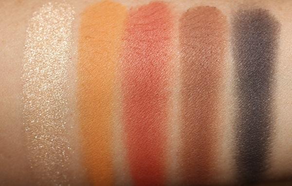 VIEVE by Jamie Genevieve Essential Eyeshadow Palette Swatches