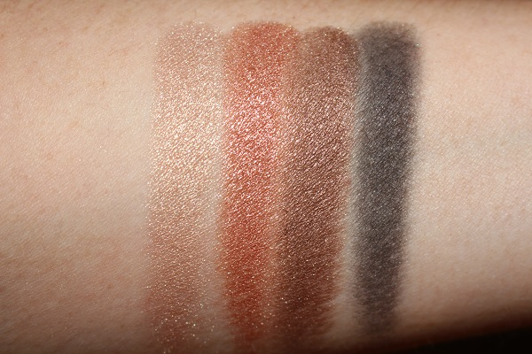 Diva Lights Palette Swatches