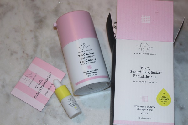 Drunk Elephant TLC Sakuri Babyfacial UK Contents