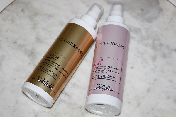 Use detangler and heat protection in your winter hair care