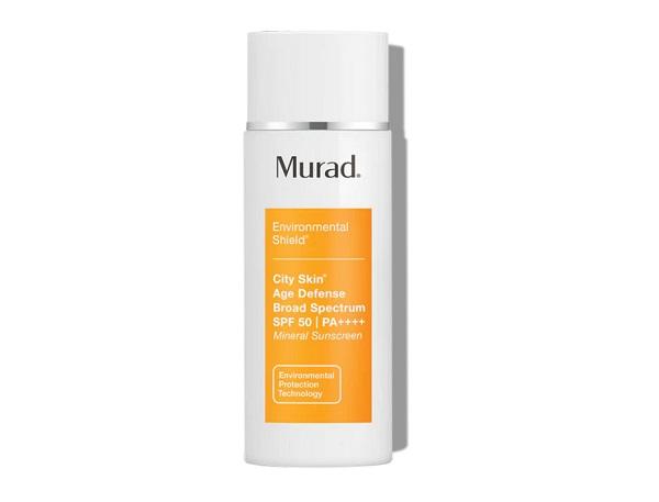 Best SkincareMurad City Skin Age Defense SPF50 - Best Face SPF Skincare Product 2021