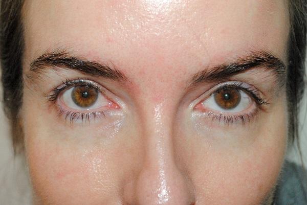 Before photo - VB mascara review