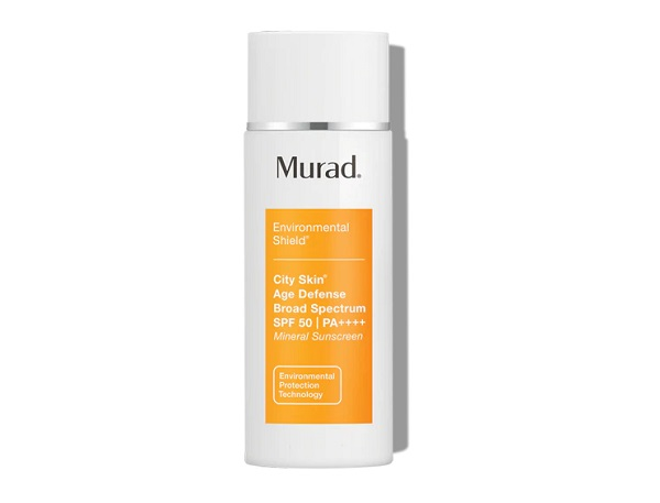 Best SkincareMurad City Skin Age Defense SPF50 - Best Face SPF Skincare Product 2021