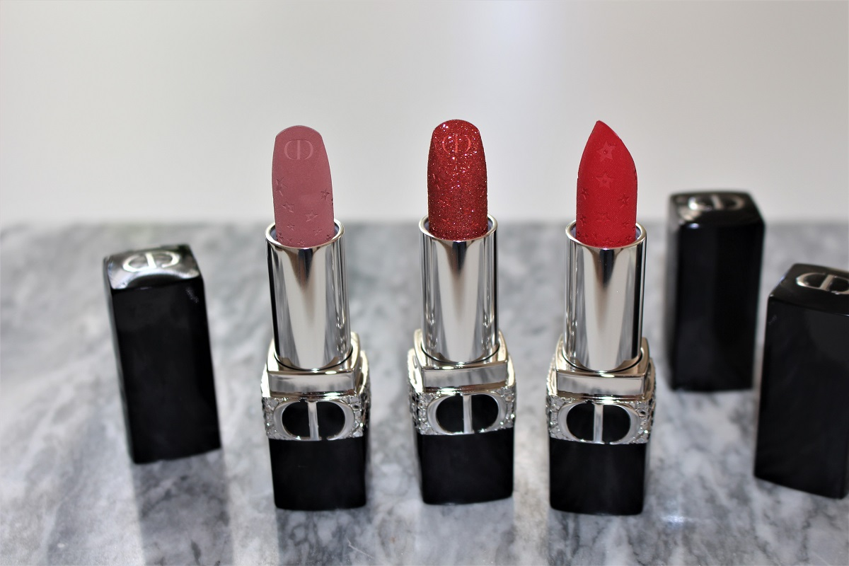 DIOR Rouge Dior Star Edition Review & Swatches