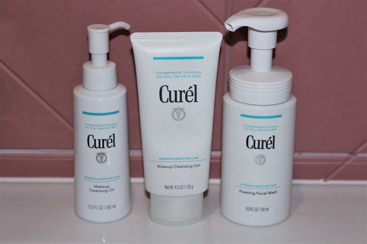 Curél Double Cleansing & Double Moisturising Routine |AD